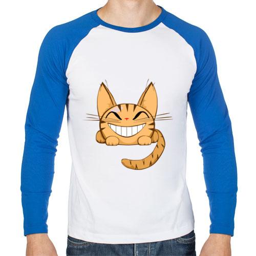 Мужской лонгслив реглан Cat (10)