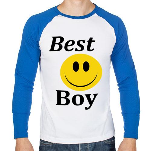 Мужской лонгслив реглан Best Boy