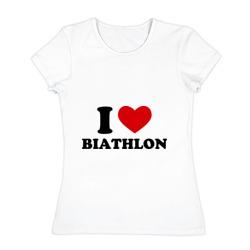 Я люблю Биатлон — I love Biathlon - интернет магазин Futbolkaa.ru