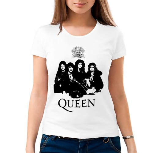 Женская футболка хлопок 'Queen All'