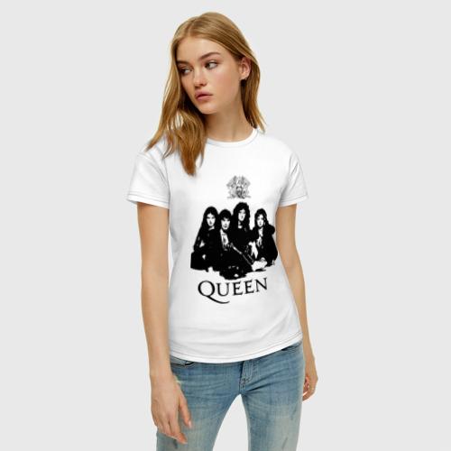 Женская футболка хлопок Queen All Фото 01