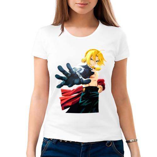Женская футболка хлопок  Фото 03, Fullmetal