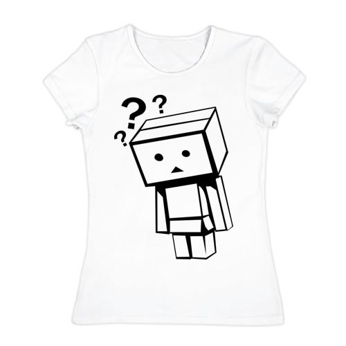 Женская футболка хлопок  Фото 01, Жизнь коробочек