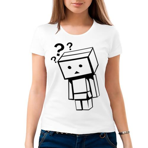 Женская футболка хлопок  Фото 03, Жизнь коробочек