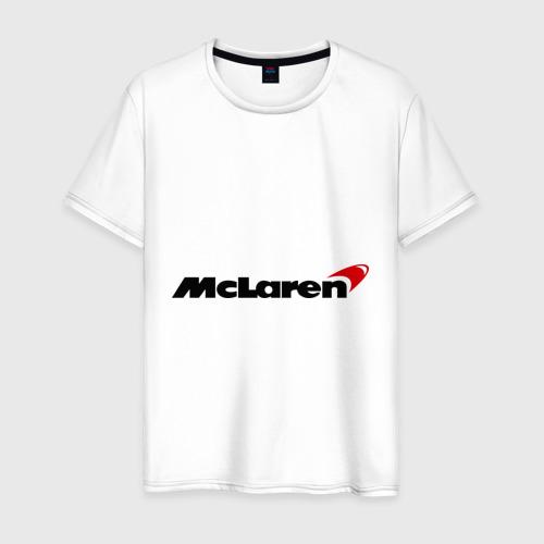 Мужская футболка хлопок McLaren (МакЛарен)