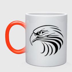 Орел голова перья