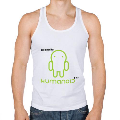 Мужская майка борцовка  Фото 01, Designed for Humanoid (Android)