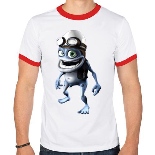 Мужская футболка рингер  Фото 01, Crazy frog