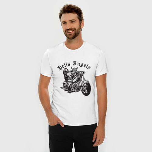 Мужская футболка премиум  Фото 03, Hells Angels