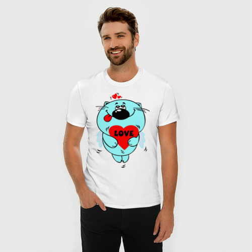 Мужская футболка премиум  Фото 03, Kotik