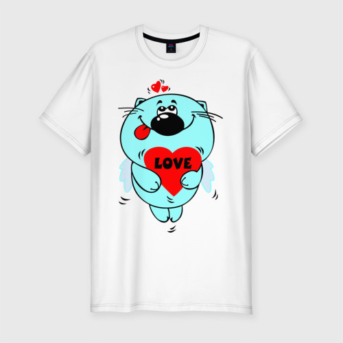 Мужская футболка премиум  Фото 01, Kotik