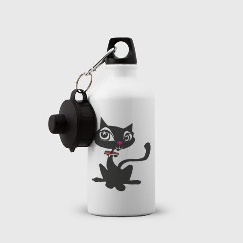 Бутылка спортивная  Фото 03, Кошечка