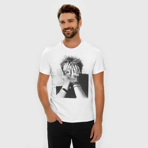 Мужская футболка премиум  Фото 03, Абстракция (2)