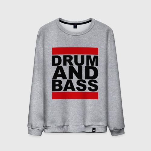 Мужской свитшот хлопок  Фото 01, Drum and bass (4)