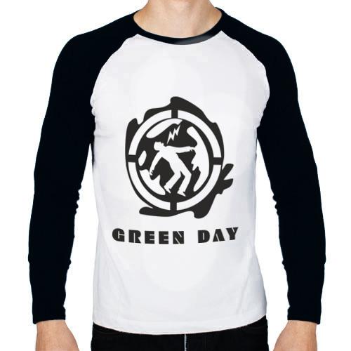 Мужской лонгслив реглан Green_Day (4)