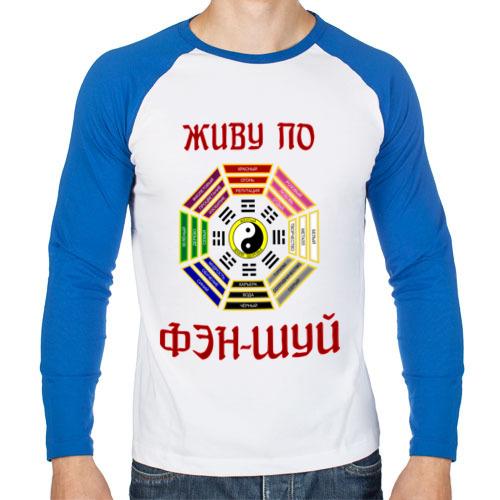 Мужской лонгслив реглан Живу по Фэн Шуй