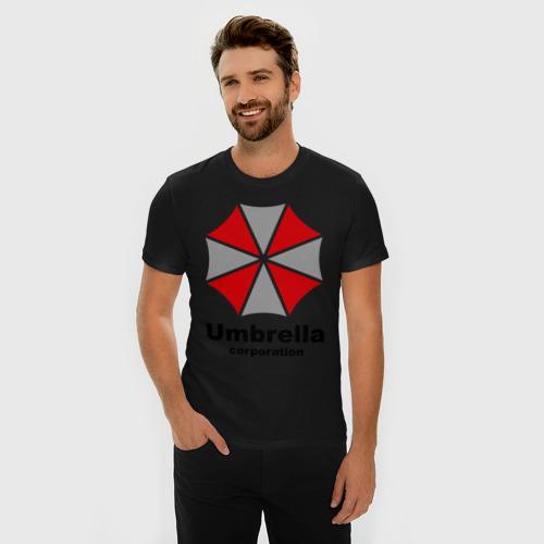 Мужская футболка премиум  Фото 03, Umbrella corporation