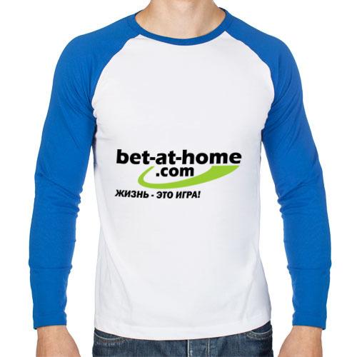 Мужской лонгслив реглан Bet-at-home