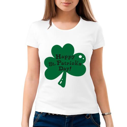 Женская футболка хлопок  Фото 03, День Св. Патрика