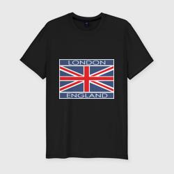 London - Лондон с флагом Англии