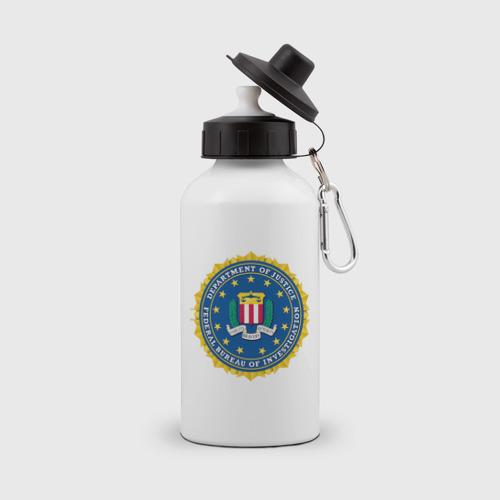 Бутылка спортивная FBI (Fidelity Bravery Intergrity)