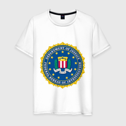 Мужская футболка хлопок FBI (Fidelity Bravery Intergrity)