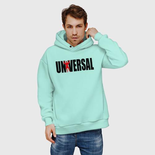 Мужское худи Oversize хлопок Universal bodybilding Фото 01