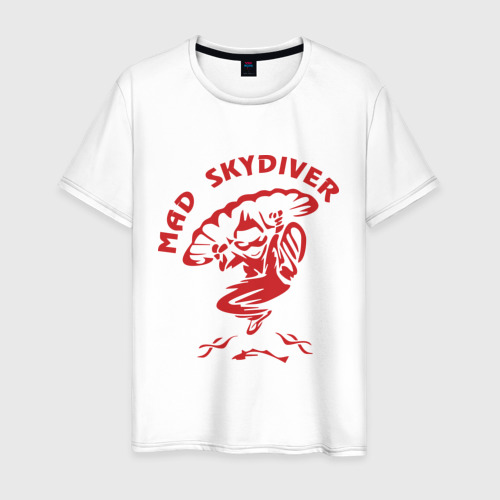 Мужская футболка хлопок Mad Skydiver Фото 01