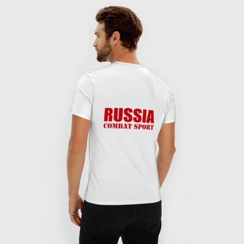 Мужская футболка премиум  Фото 04, Боевое самбо России (2)