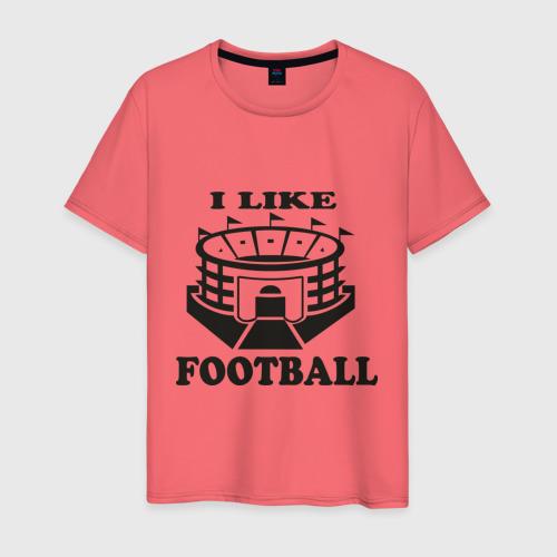 I like football, цвет: коралловый, фото 50