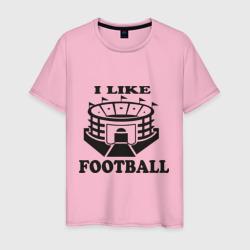 I like football, цвет: светло-розовый, фото 60
