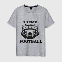 I like football, цвет: меланж, фото 45