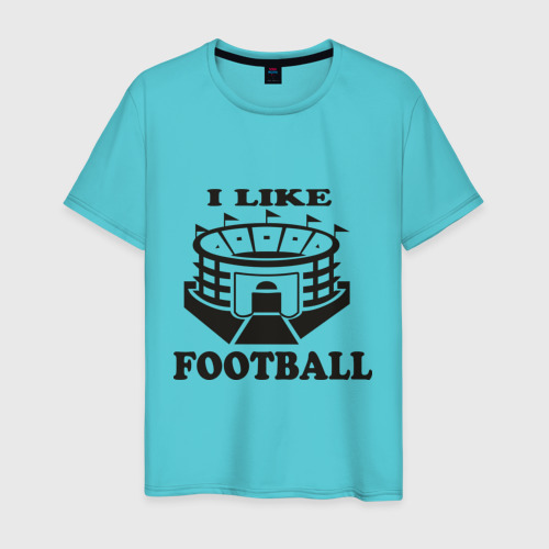 I like football, цвет: бирюзовый, фото 30