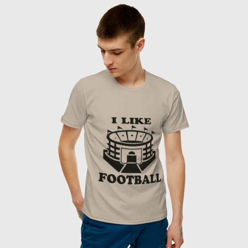 I like football, цвет: бежевый, фото 42