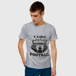 I like football, цвет: меланж, фото 47