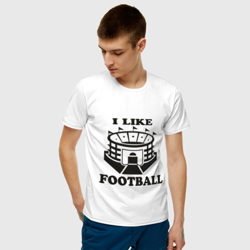I like football, цвет: белый, фото 2