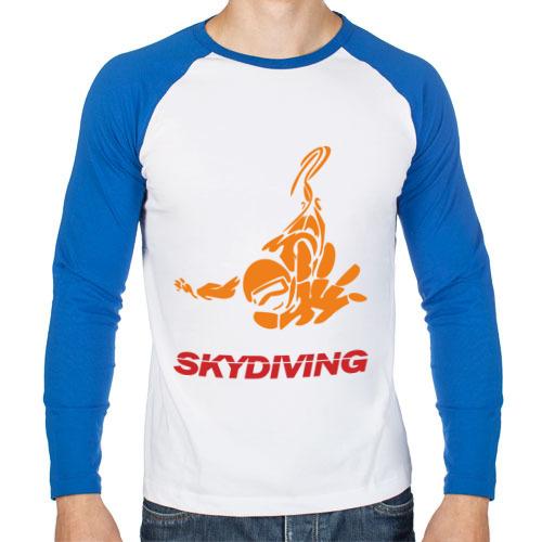 Мужской лонгслив реглан Skydiving (2)