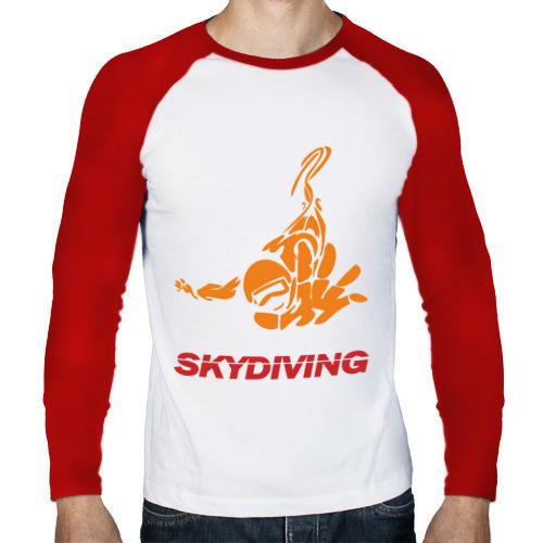 Мужской лонгслив реглан  Фото 01, Skydiving (2)