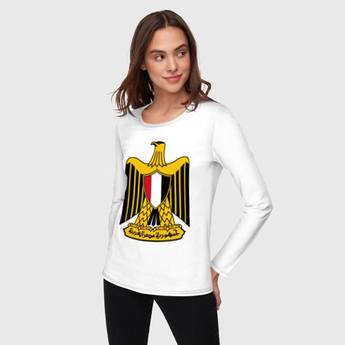 Женский лонгслив хлопок  Фото 03, Египет герб