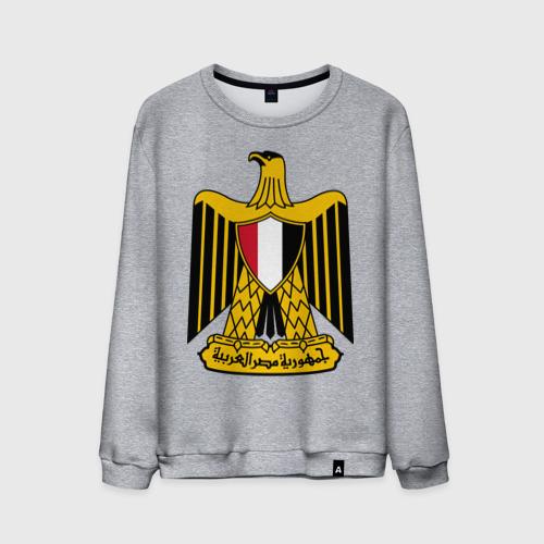 Мужской свитшот хлопок  Фото 01, Египет герб