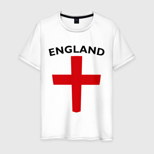 Мужская футболка хлопок England - Англия