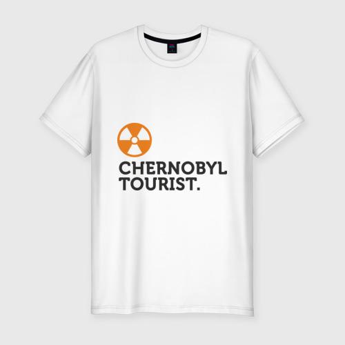 Мужская футболка премиум  Фото 01, Chernobyl tourist