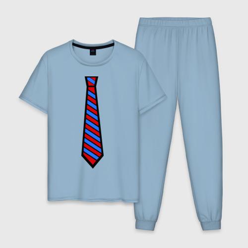 Мужская пижама хлопок Стильный прикид Фото 01