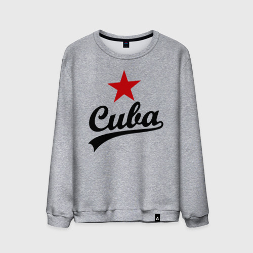 Мужской свитшот хлопок  Фото 01, Куба - Cuba