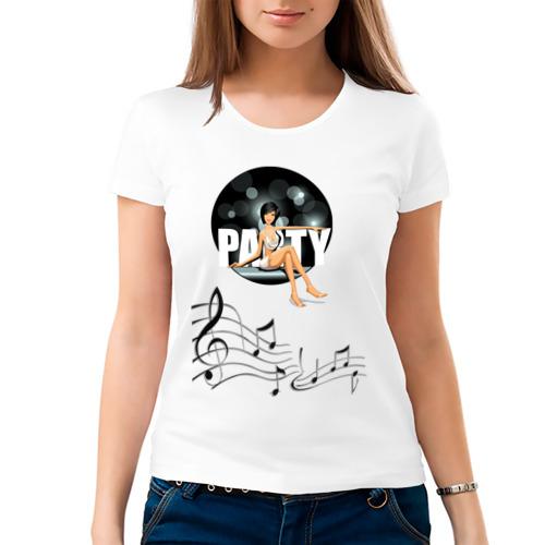 Женская футболка хлопок  Фото 03, Disco Patti №2