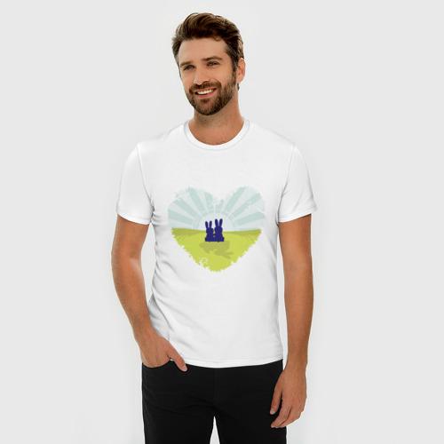 Мужская футболка премиум  Фото 03, Зайки