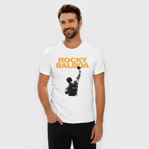 Мужская футболка премиум Рокки (Rocky Balboa) Фото 01