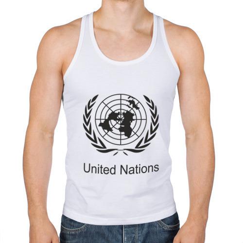 Мужская майка борцовка  Фото 01, United Nation