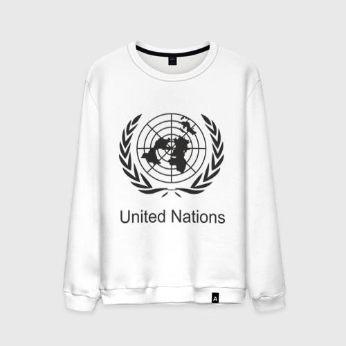 Мужской свитшот хлопок  Фото 01, United Nation