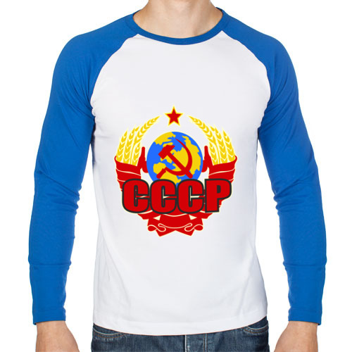 Мужской лонгслив реглан Герб СССР